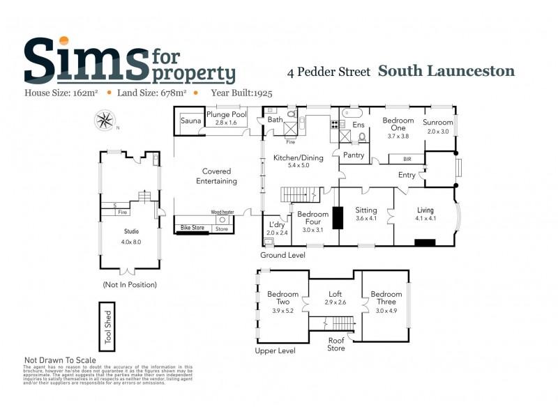 4 Pedder Street, South Launceston TAS 7249 Floorplan