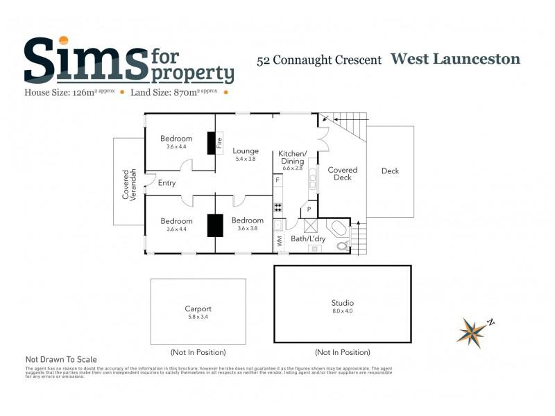 52 Connaught Crescent, West Launceston TAS 7250 Floorplan