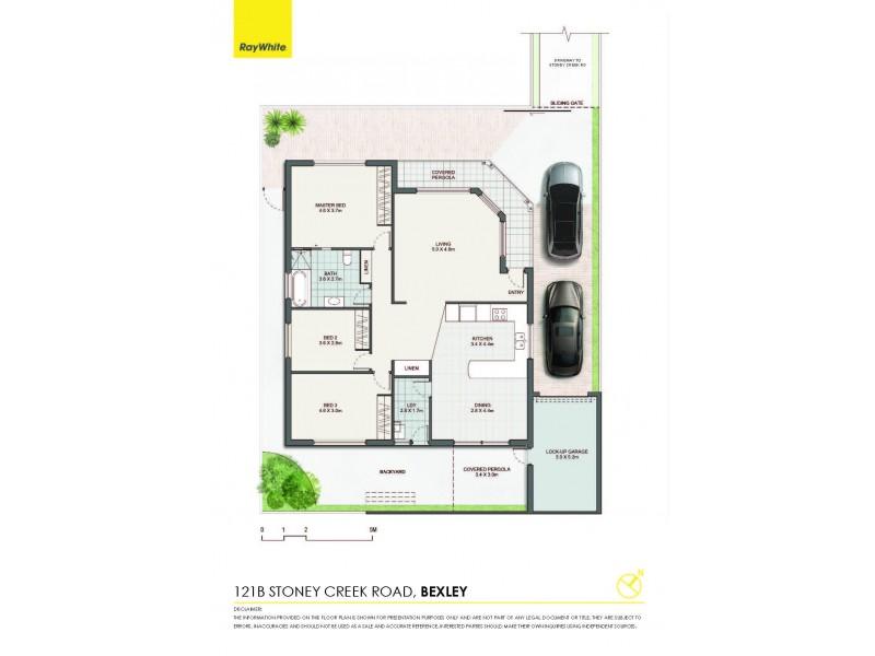 121B Stoney Creek Road, Bexley NSW 2207 Floorplan