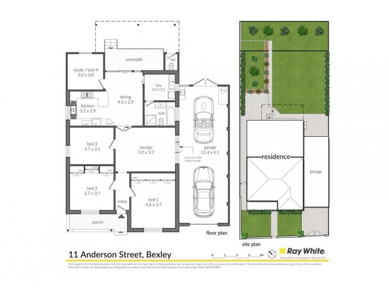 11 Anderson Street, Bexley NSW 2207 Floorplan