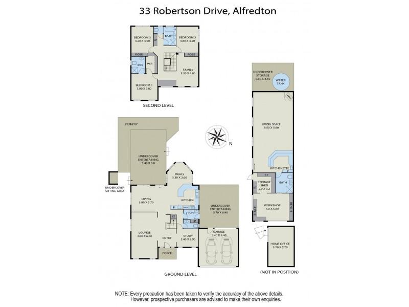 33 Robertson Drive, Alfredton VIC 3350 Floorplan