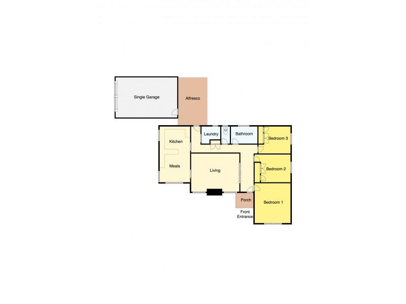 20 Pauls Crescent, Wendouree VIC 3355 Floorplan