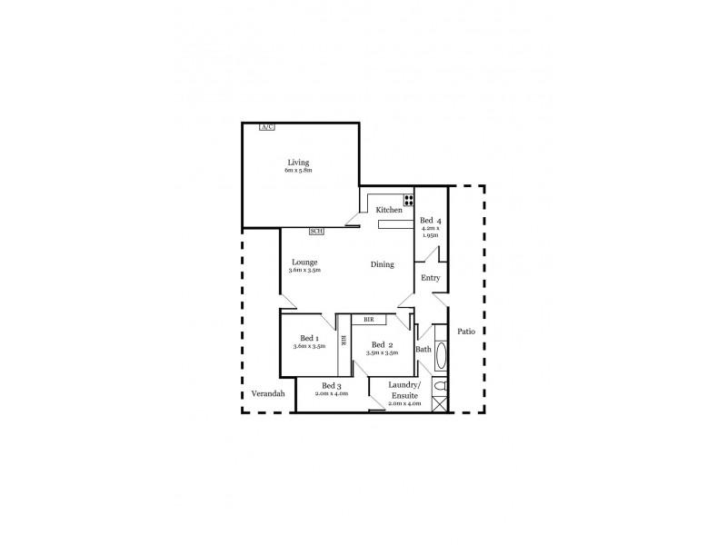 176 Miles Road, Hynam SA 5262 Floorplan