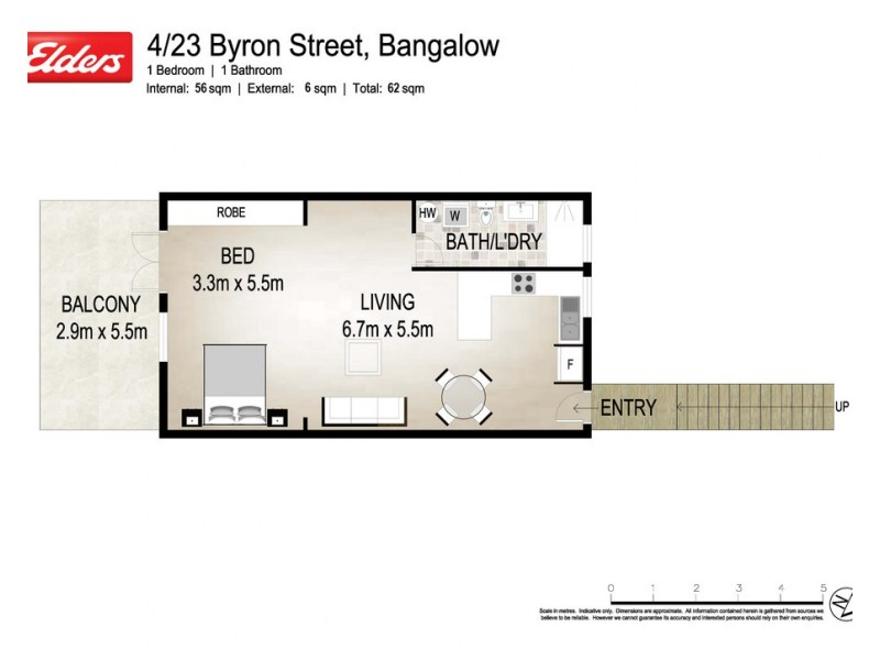 4/23-29 Byron Street, Bangalow NSW 2479 Floorplan