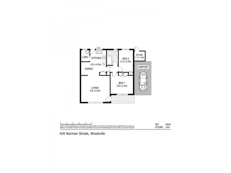 4/8 Norman Street, Woodville SA 5011 Floorplan