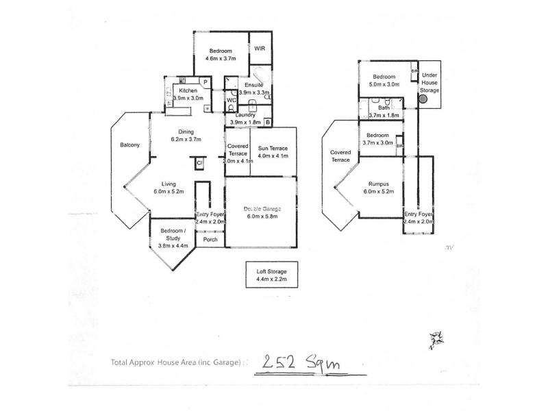 28 Caroline Street, Dynnyrne TAS 7005 Floorplan