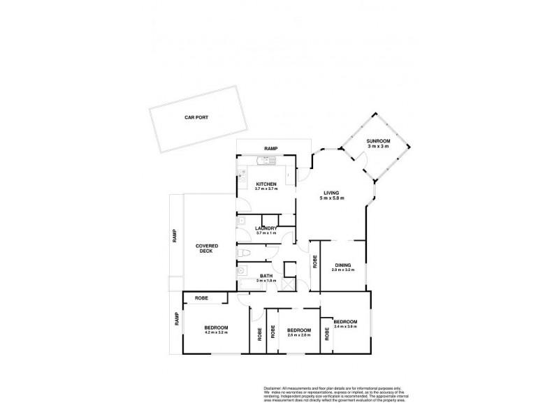 Kingston TAS 7050 Floorplan