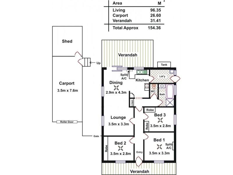2/3 Little Eva Street, Williamstown SA 5351 Floorplan