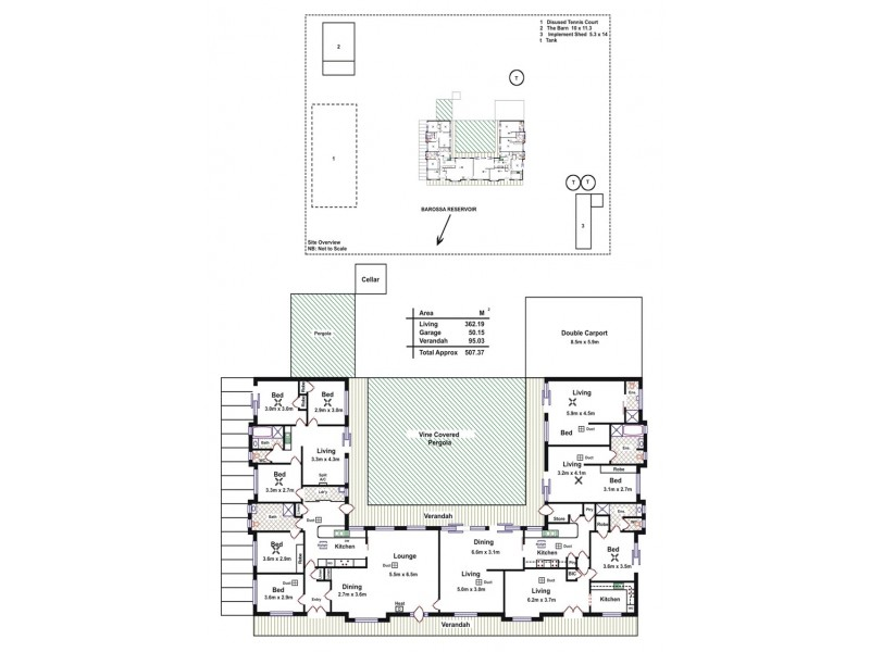 34 Millington Road, Williamstown SA 5351 Floorplan