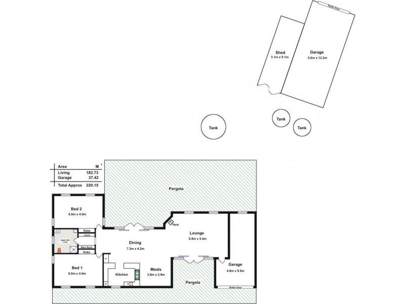660 Allendale Road, Gawler SA 5118 Floorplan