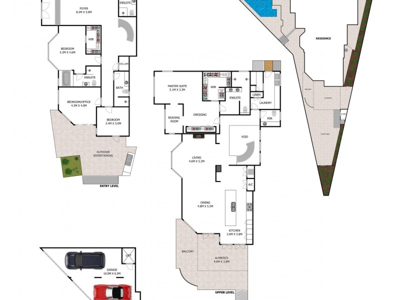 24 Hillside Crescent, Hamilton QLD 4007 Floorplan