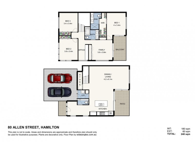 80 Allen Street, Hamilton QLD 4007 Floorplan