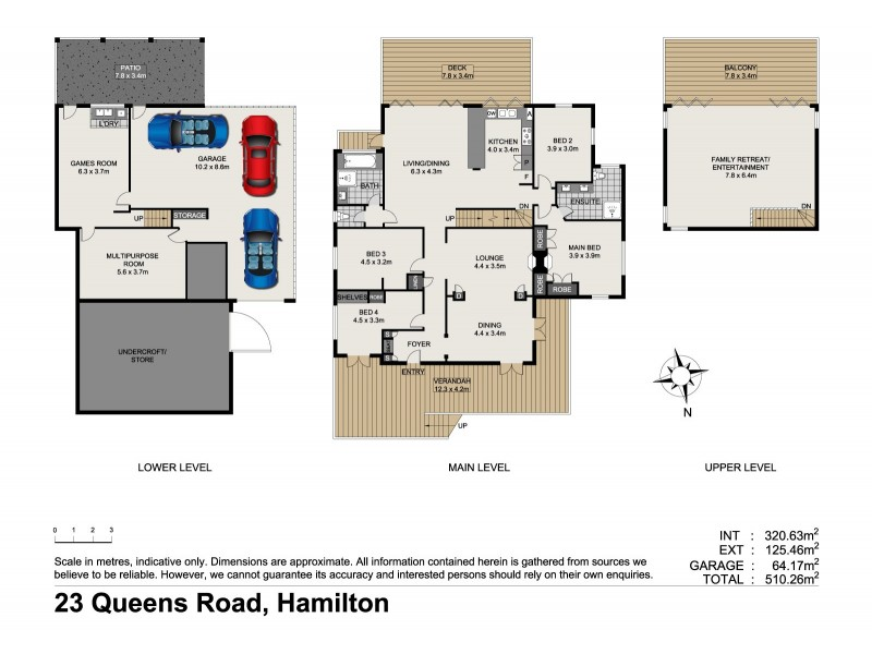 23 Queens Road, Hamilton QLD 4007 Floorplan