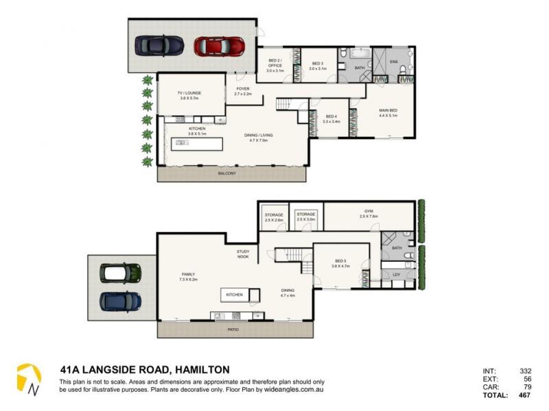 41 Langside Road, Hamilton QLD 4007 Floorplan