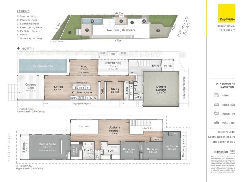 34 Hipwood Road, Hamilton QLD 4007 Floorplan