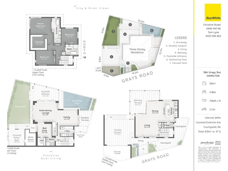 38a Grays Road, Hamilton QLD 4007 Floorplan