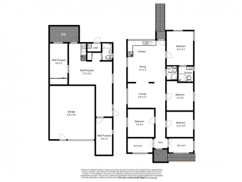 53 Latrobe Street, East Brisbane QLD 4169 Floorplan