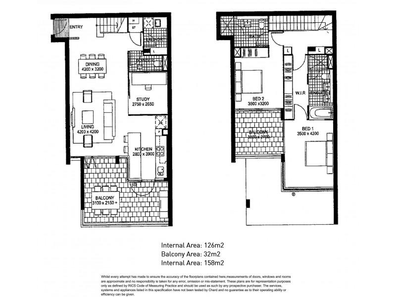 146/35 – 37 Harbour Road, Hamilton QLD 4007 Floorplan