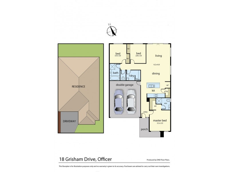 18 Grisham Drive, Officer VIC 3809 Floorplan