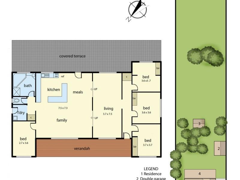 216-218 Rossiter Road, Koo Wee Rup VIC 3981 Floorplan
