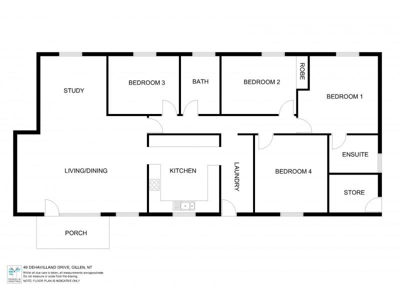 49 DE HAVILLAND DRIVE, Araluen NT 0870 Floorplan