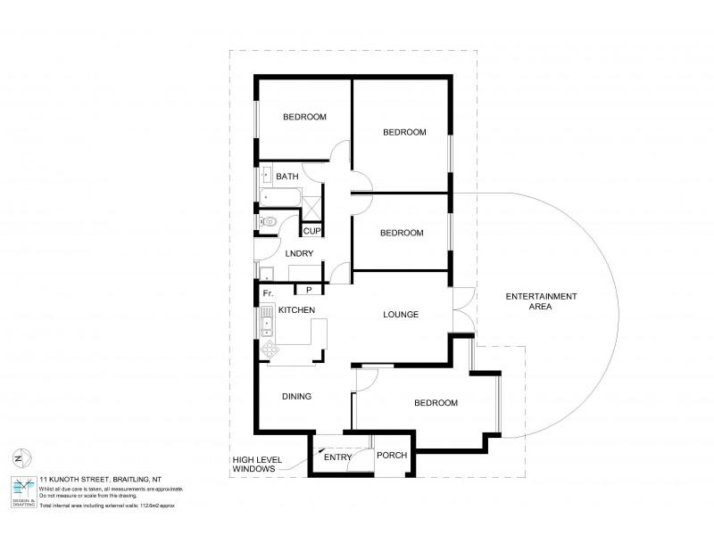 11 Kunoth Street, Braitling NT 0870 Floorplan