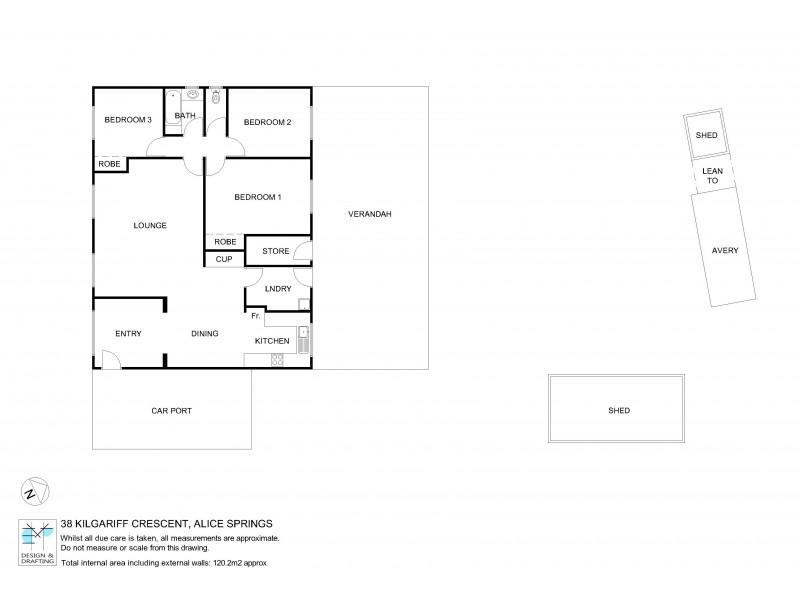 38 Kilgariff Crescent, Sadadeen NT 0870 Floorplan
