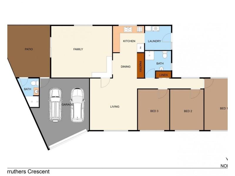 38 Carruthers Crescent, Gillen NT 0870 Floorplan