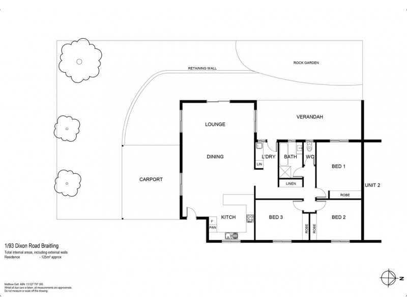 1/93 Dixon Road, Braitling NT 0870 Floorplan