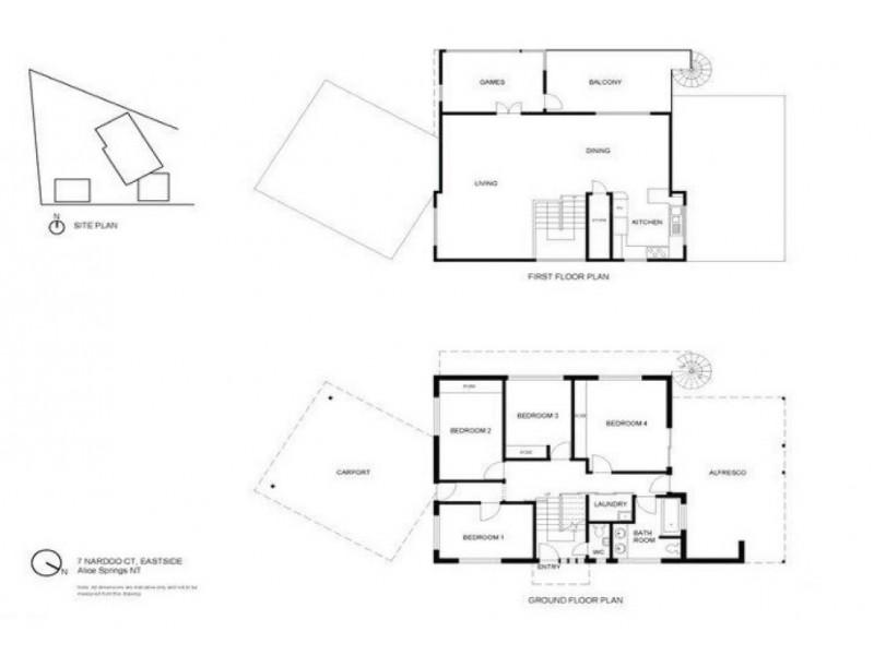7 Nardoo Court, Sadadeen NT 0870 Floorplan