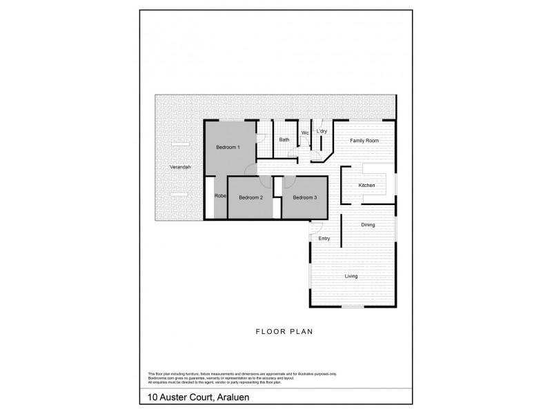 10 Auster Court, Araluen NT 0870 Floorplan