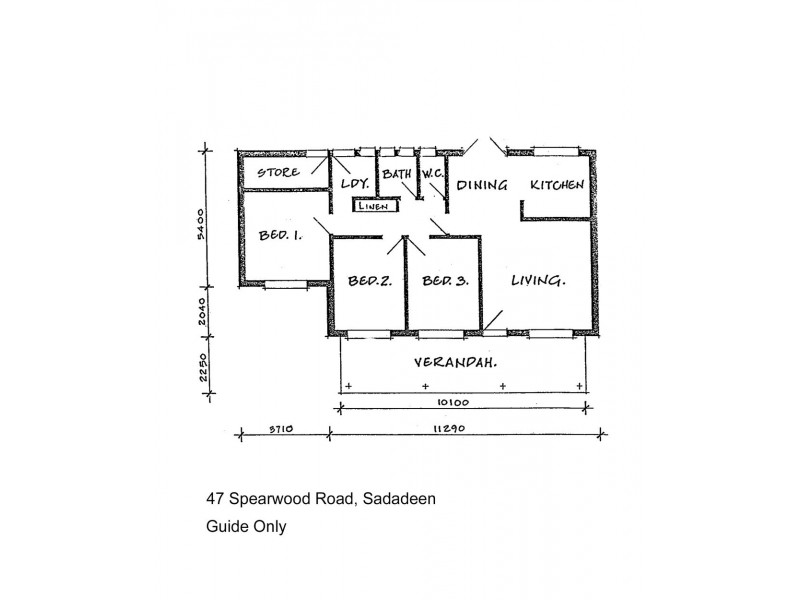 47 Spearwood Road, Sadadeen NT 0870 Floorplan