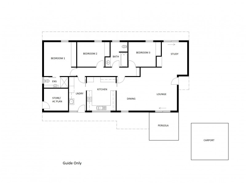 4 Auster Court, Araluen NT 0870 Floorplan