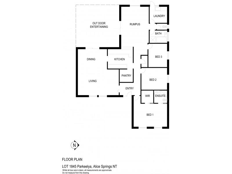 1845 Parakeelya Road, Connellan NT 0870 Floorplan