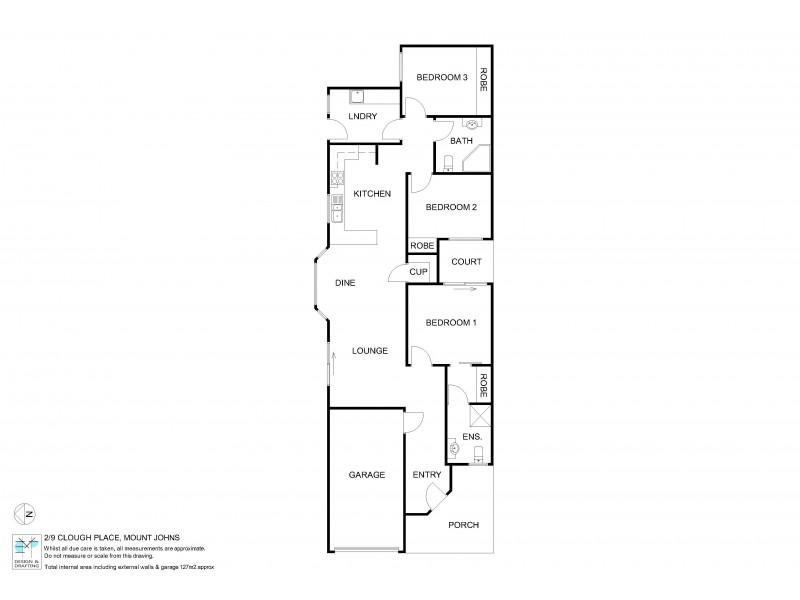 2/9 Clough Place, Mount Johns NT 0870 Floorplan