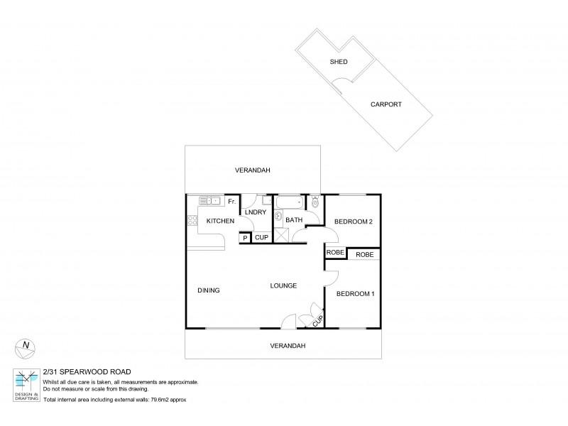 2/31 Spearwood Road, Sadadeen NT 0870 Floorplan