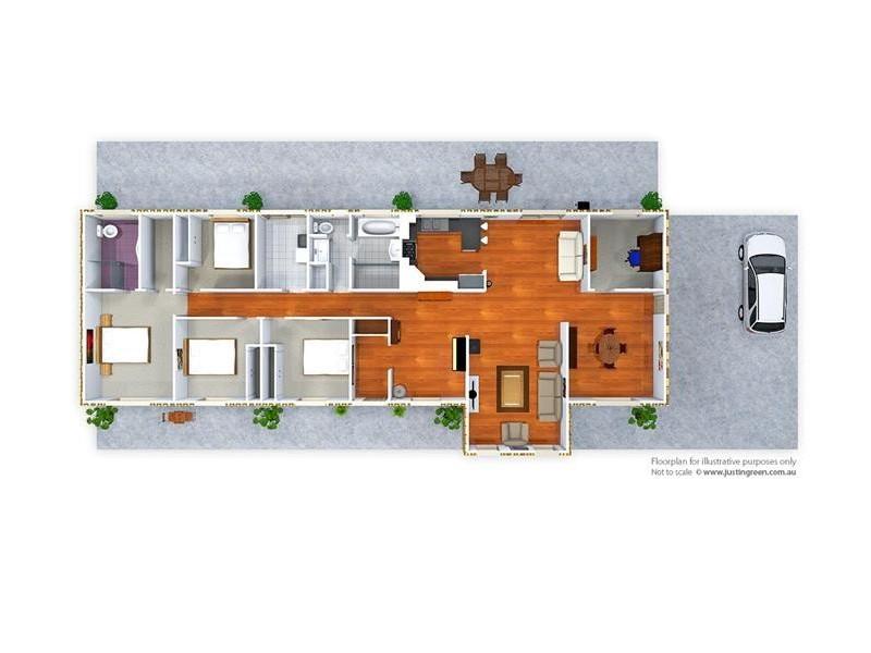 3/13 Grevillea Place, Tumut NSW 2720 Floorplan