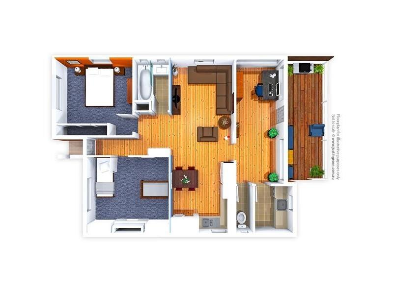 116 Capper Street, Tumut NSW 2720 Floorplan