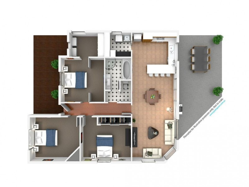 15 Fitzroy Street, Tumut NSW 2720 Floorplan