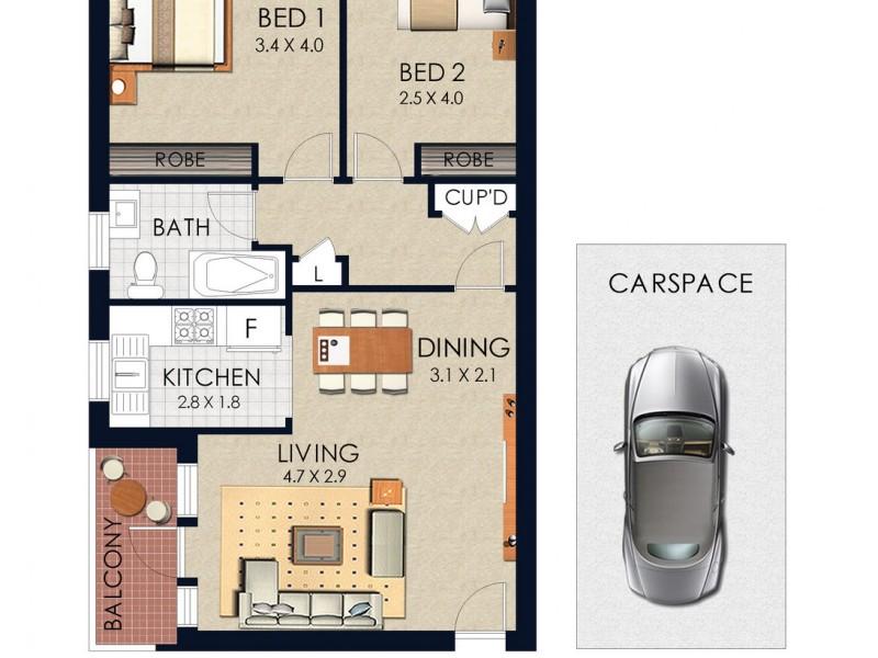 5/42 Meeks Street, Kingsford NSW 2032 Floorplan