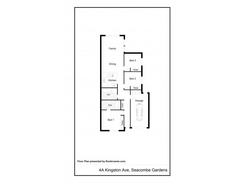 4A Kingston Avenue, Seacombe Gardens SA 5047 Floorplan
