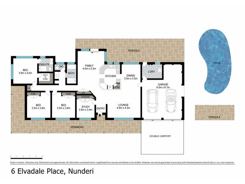 6 Elvadale Place, Nunderi NSW 2484 Floorplan
