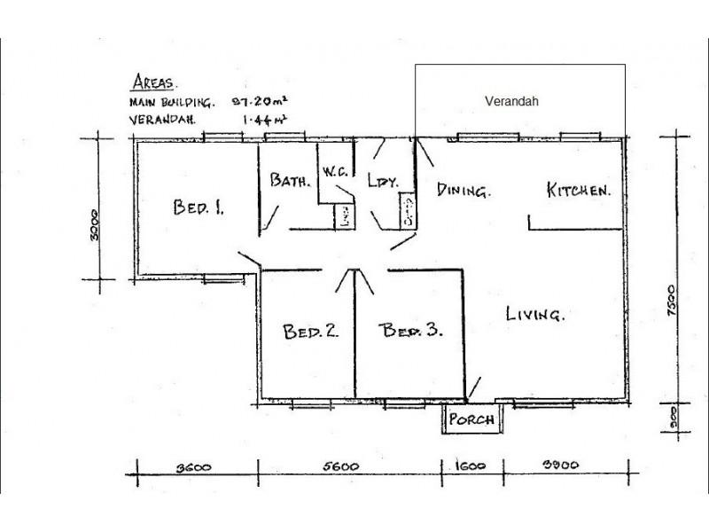 33 Eldorado Crescent, Tennant Creek NT 0860 Floorplan