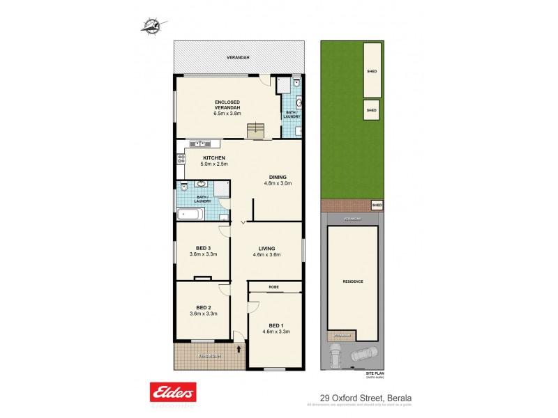 29 Oxford Street, Berala NSW 2141 Floorplan