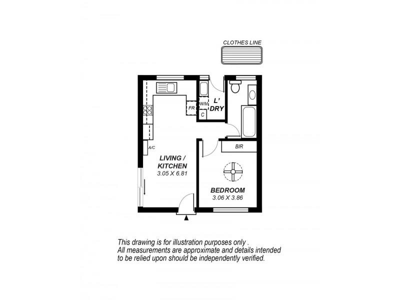 1/59 Morphett Rd, Camden Park SA 5038 Floorplan