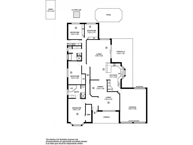 24 Barracoota Crescent, Aldinga Beach SA 5173 Floorplan