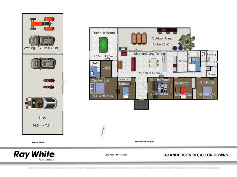 49 Anderson Road, Alton Downs QLD 4702 Floorplan