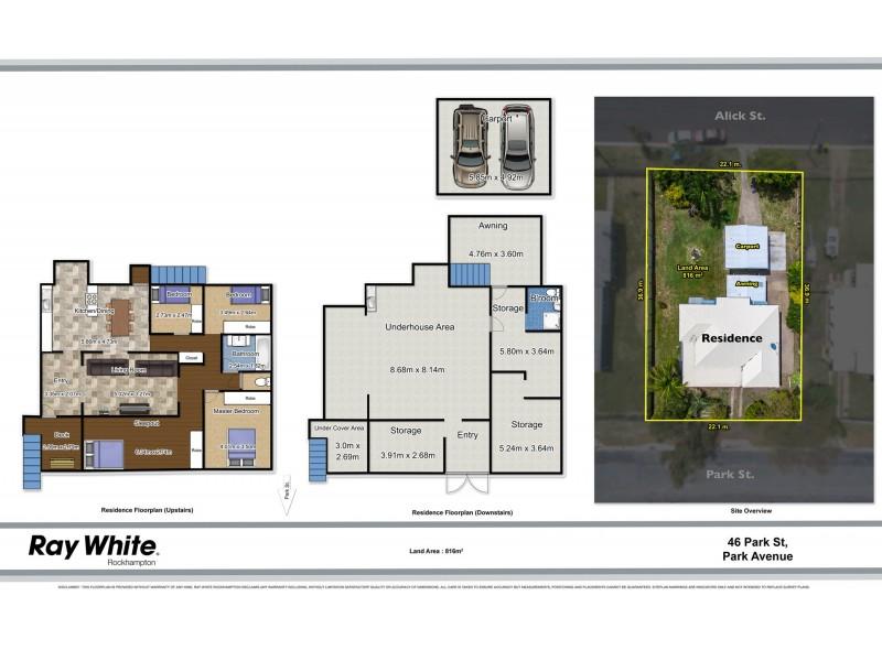46 Park Street, Park Avenue QLD 4701 Floorplan