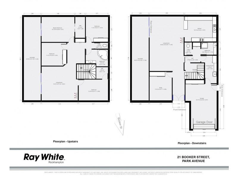 21 Booker Street, Park Avenue QLD 4701 Floorplan