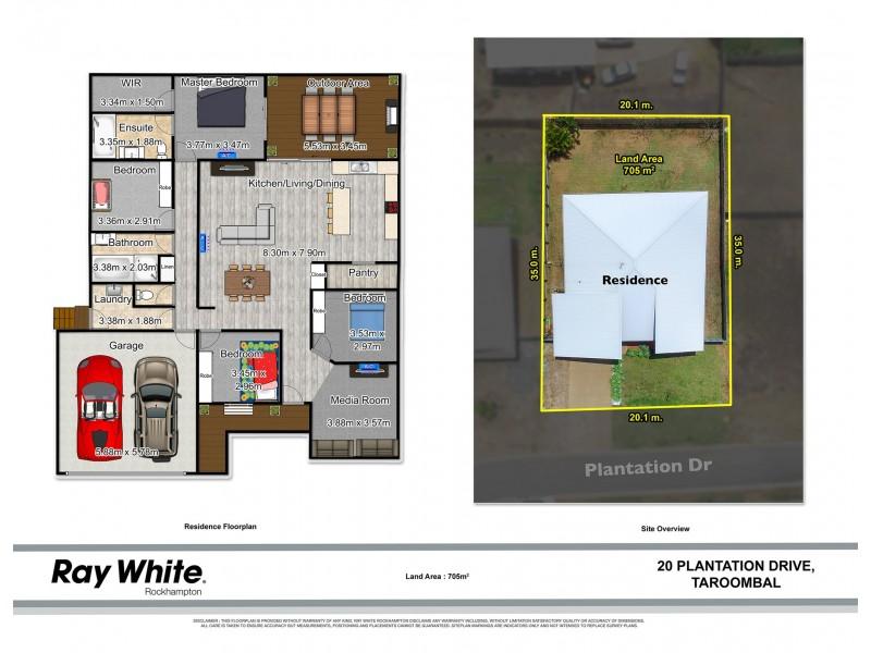 20 Plantation Drive, Taroomball QLD 4703 Floorplan